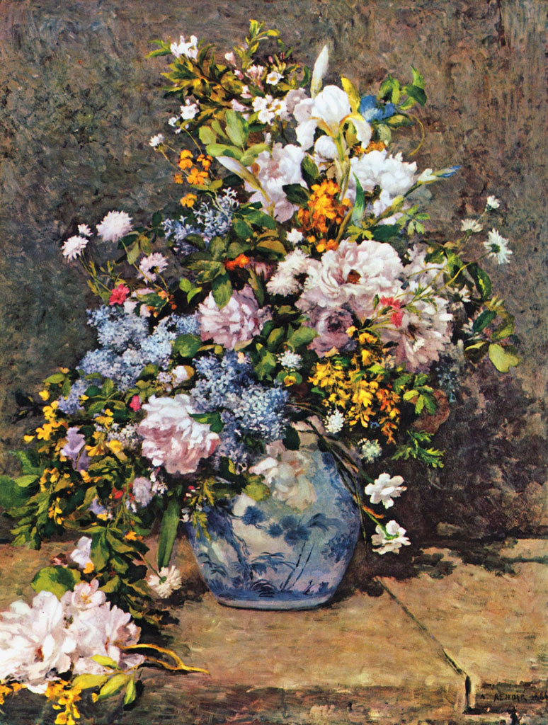 Bouquet of Spring Flowers by Pierre-Auguste Renoir