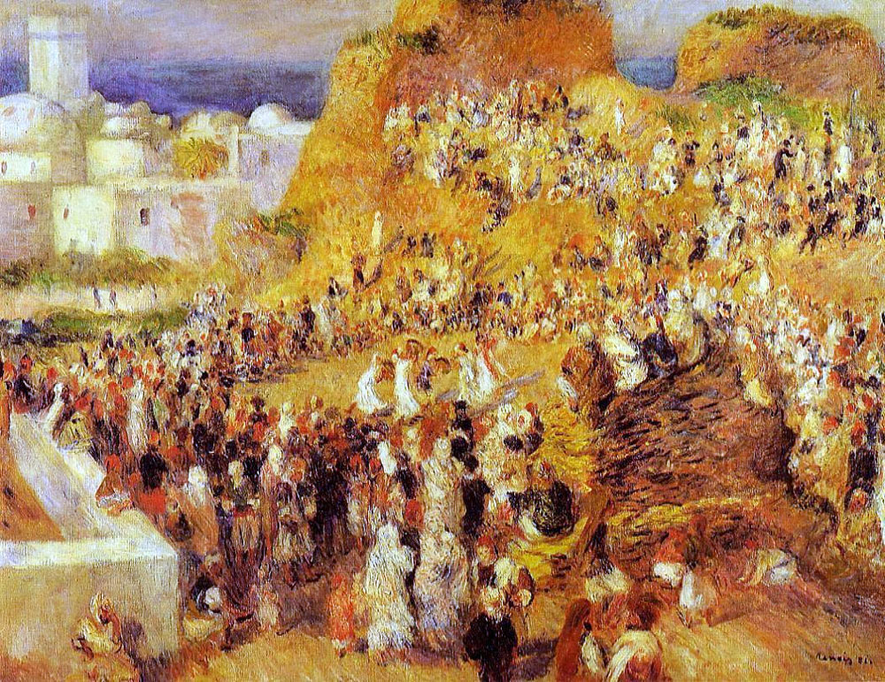 The Casbah by Pierre-Auguste Renoir