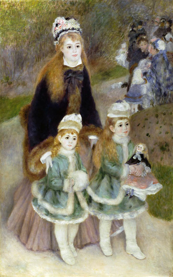 Mother and Children by Pierre-Auguste Renoir