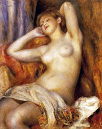 Sleeping Bather by Pierre-Auguste Renoir