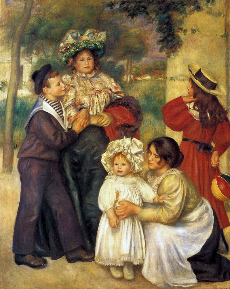 The Artist's Family by Pierre-Auguste Renoir