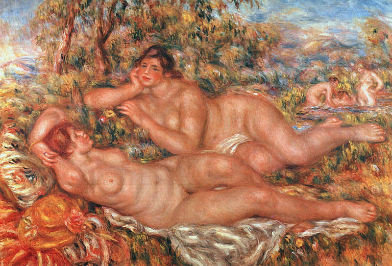 The Great Bathers by Pierre-Auguste Renoir