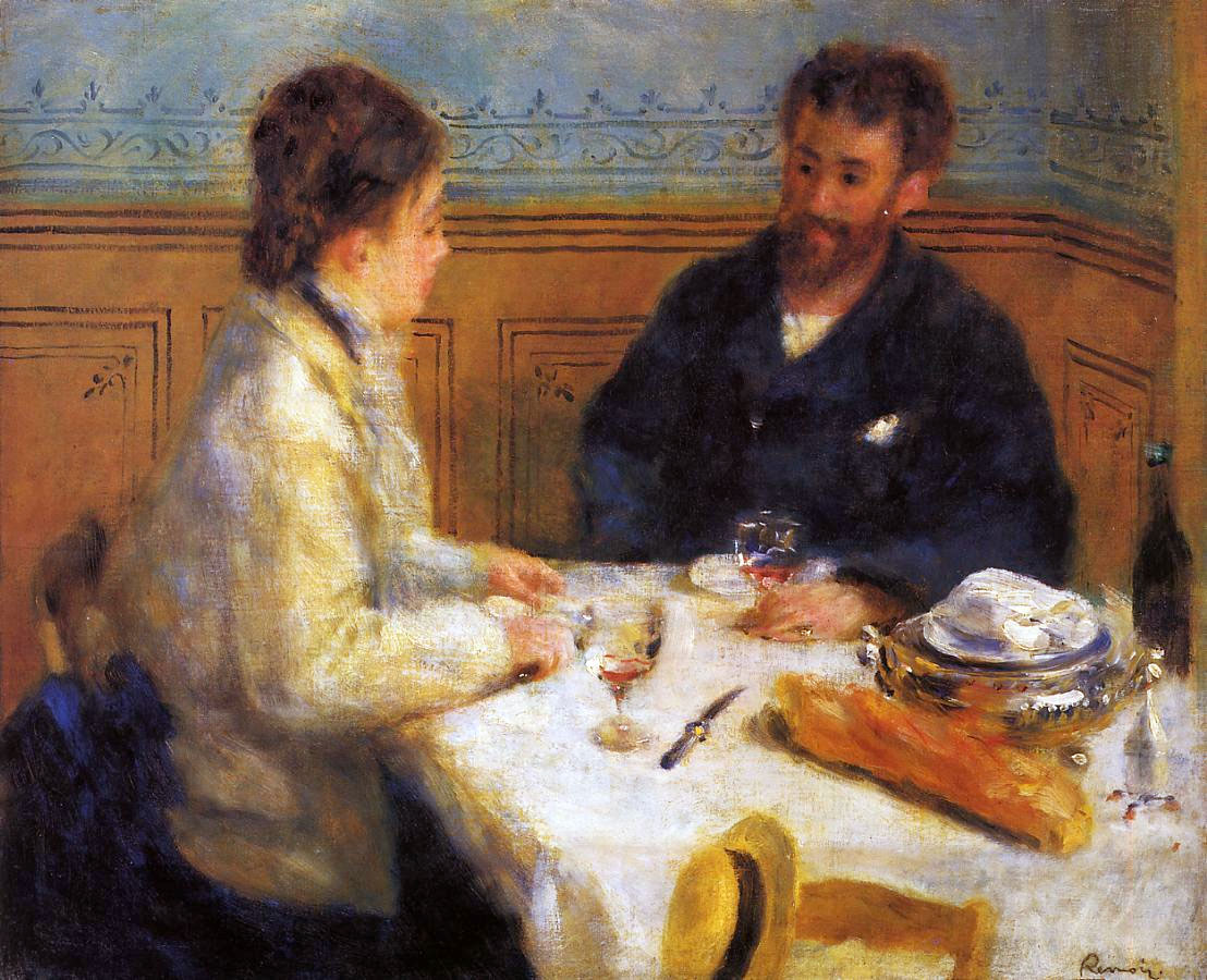 The Luncheon by Pierre-Auguste Renoir