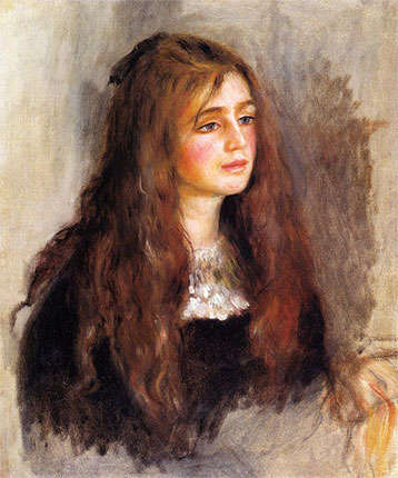 Julie Manet by Pierre-Auguste Renoir