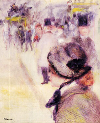 Place Clichy by Pierre-Auguste Renoir