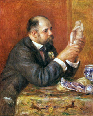 Portrait of Ambroise Vollard by Pierre-Auguste Renoir