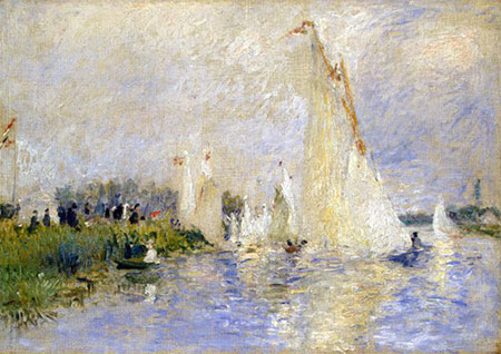 Regatta at Argenteuil by Pierre-Auguste Renoir