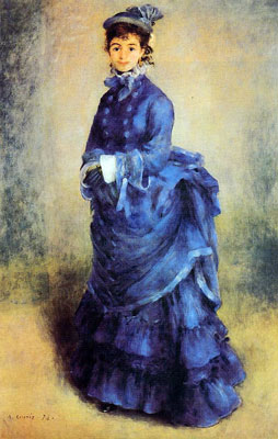 The Parisian (La Parisienne) by Pierre-Auguste Renoir