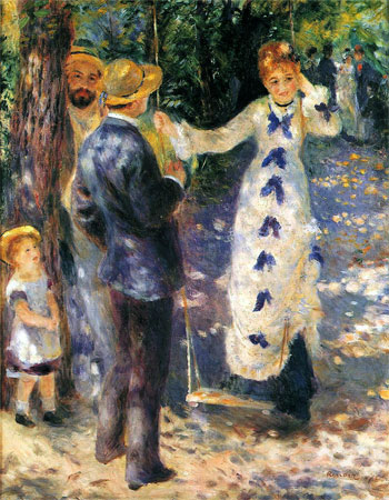 The Swing (La Balan�oire) by Pierre-Auguste Renoir