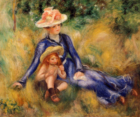 Yvonne and Jean by Pierre-Auguste Renoir