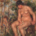 Bather (0) by Pierre-Auguste Renoir