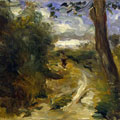 Landscape between Storms (1875) by Pierre-Auguste Renoir