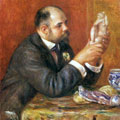 Portrait of Ambroise Vollard (1908) by Pierre-Auguste Renoir
