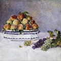 Still Life with Peaches and Grapes (1881) by Pierre-Auguste Renoir