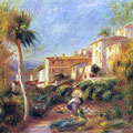 The Post Office House at Cagnes (1906) by Pierre-Auguste Renoir