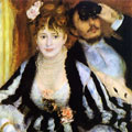 The Theater Box (1874) by Pierre-Auguste Renoir